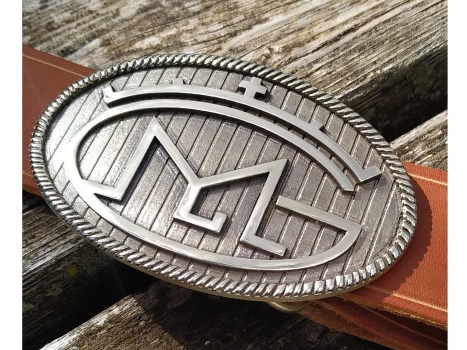 Hebilla personalizada hierro 002